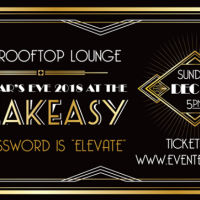 New Year's Eve 2018 at the SPEAKEASY