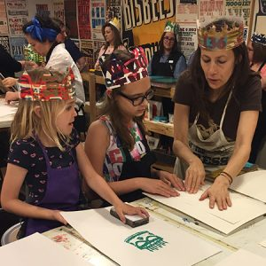 Family Programs: Make Letterpress Art with Hatch Show Print