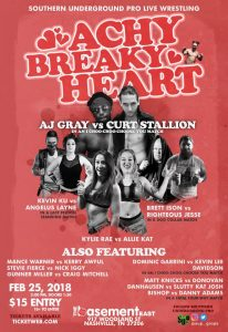 Southern Underground Pro Wrestling Presents Achy B...