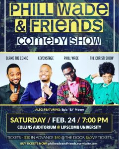 Phill Wade and Friends Comedy Show