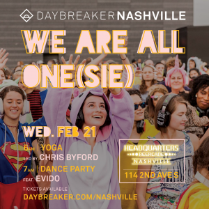 Daybreaker | We Are All One(sie)