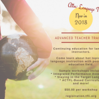 Language Teacher Workshop   ACTFL Can-Do Statements as Curriculum: How to Use it?