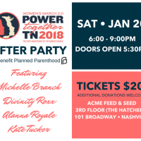 Women's March 2.0 After Party to benefit Planned Parenthood