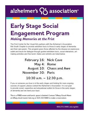Alzheimer's | Early Stage Social Engagement