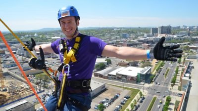 Over the Edge Nashville presented by City Auto