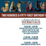 President Jackson's 251st Birthday Celebration