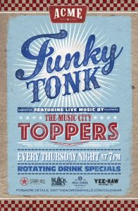 Funky Tonk | The Music City Toppers