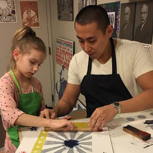 Family Program: Make Letterpress Art with Hatch Sh...