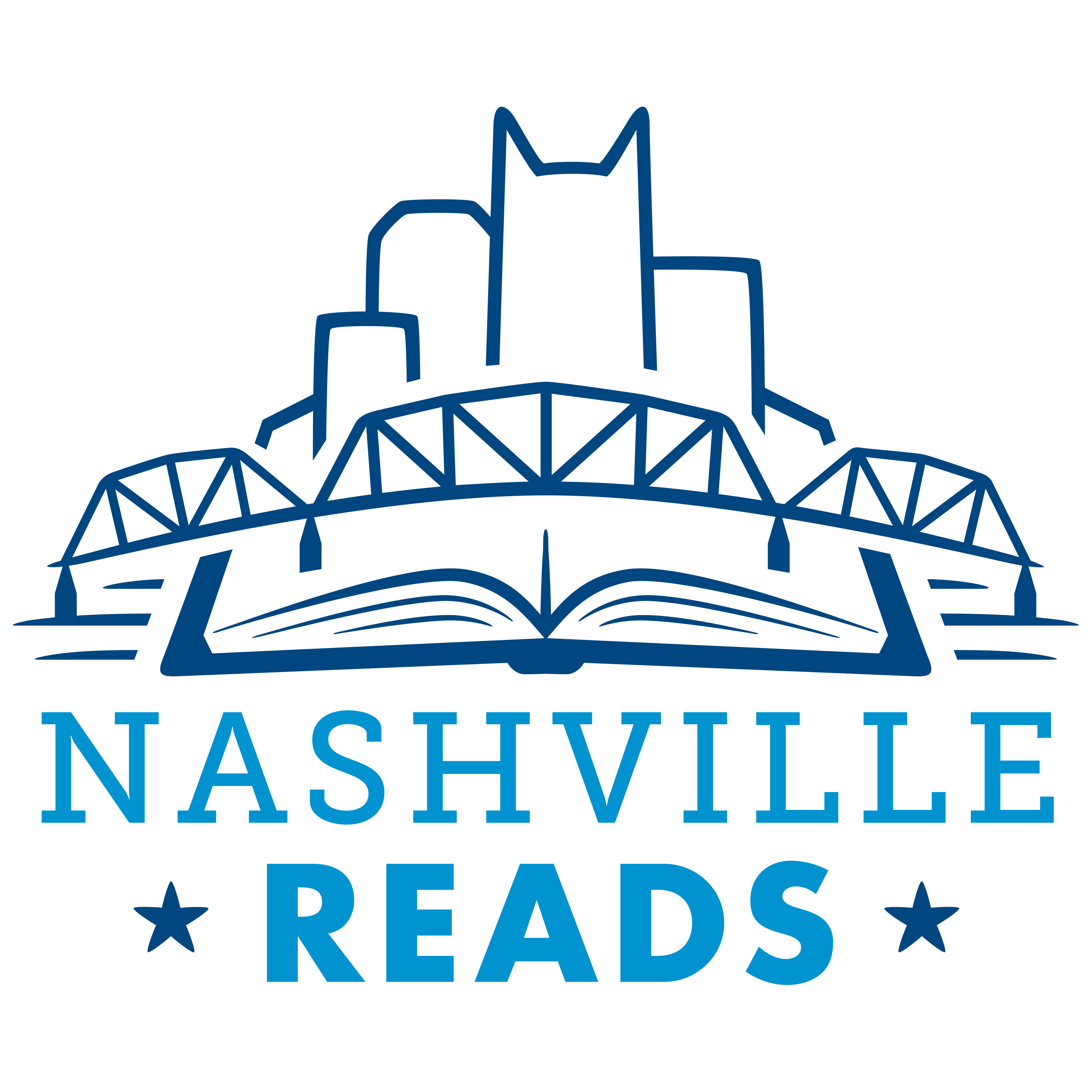 Nashville Reads Kick-Off with Randy Rayburn and Company