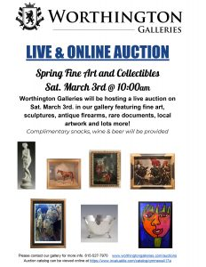 Spring Fine Art and Collectibles Auction