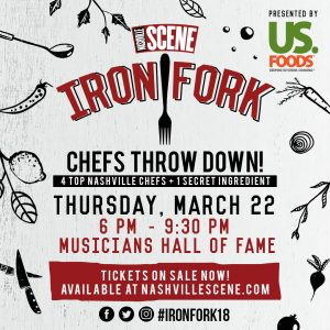 Nashville Scene's 11th Annual Iron Fork, Presented...