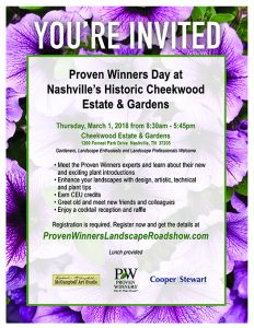 Gardening Workshop with Plant Specialists Proven W...