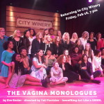 The Vagina Monologues by Eve Ensler Benefiting Act Like a GRRRL