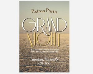 Grand Night & Day | Grand Night Patron Party