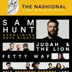 The Nashional Music Festival ft. Sam Hunt, Judah and the Lion (Cancelled)
