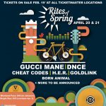 Rites of Spring ft. Gucci Mane, DNCE, Cheat Codes, H.E.R., Goldlink, Born Animal + MORE