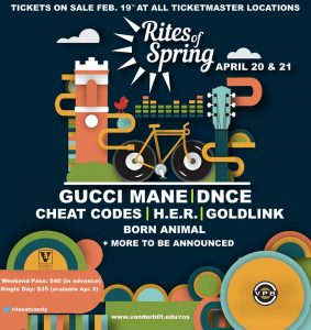 Rites of Spring ft. Gucci Mane, DNCE, Cheat Codes,...