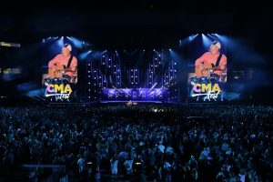 Garth Brooks at CMA Fest in Nashville, TN