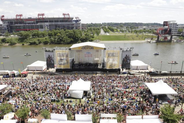 Riverfront Stage at CMA Fest in Nashville, TN