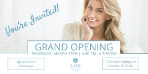Grand Opening Event: LIFE At Southern Surgical Arts - Cool Springs