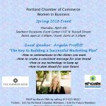 Spring Women in Business Event w/Guest Speaker Angela Proffitt