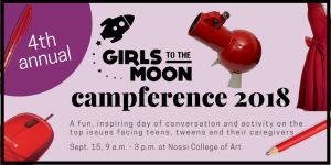 Girls to the Moon Campference 2018