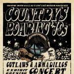 Country's Roaring '70s Outlaws & Armadillos Exhibit Opening Concert