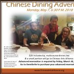 Chinese Dining Adventure #30 - May 7, 2018