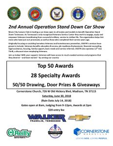Operation Stand Down Car Show