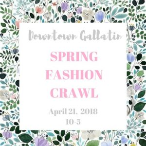 Spring Fashion Crawl