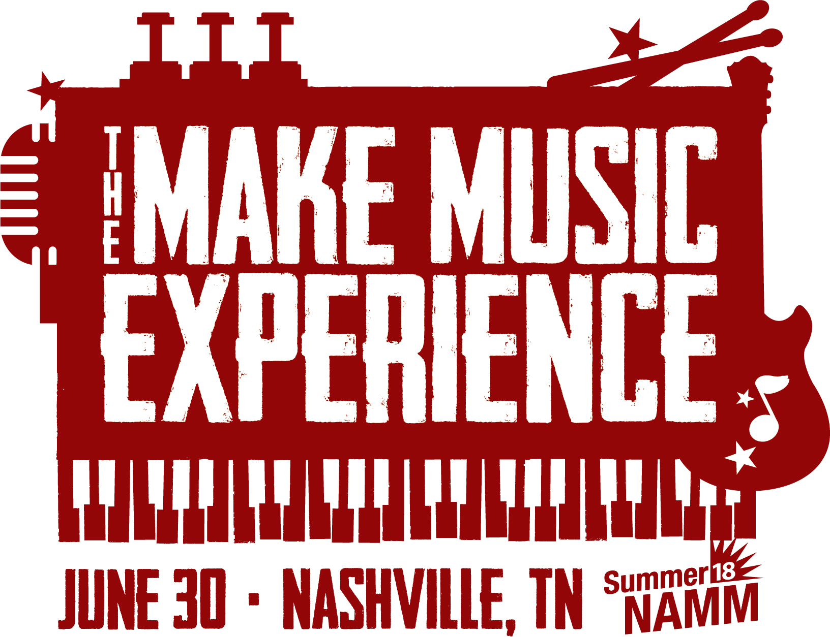 Summer NAMM The Make Music Experience presented by NAMM the
