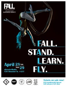 FALL. Stand. Learn. Fly. with special guests, Susp...