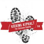 Kicking Asphalt for Dickson County Old Timers Day 5k