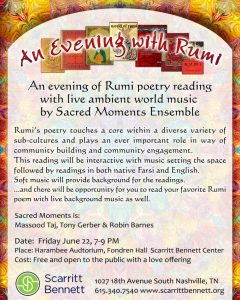 An Evening with Rumi
