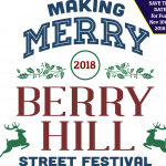 Making Merry! The Berry Hill Street Festival