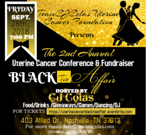 2nd Annual Uterine Cancer Conference & Fundrai...