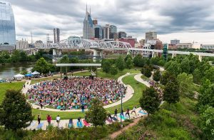Music City's International Day of Yoga