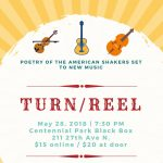 Turn/Reel: Poetry of the American Shakers Set to New Music