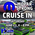 Mopar Strong Cruise In at Holder Family Fun Center