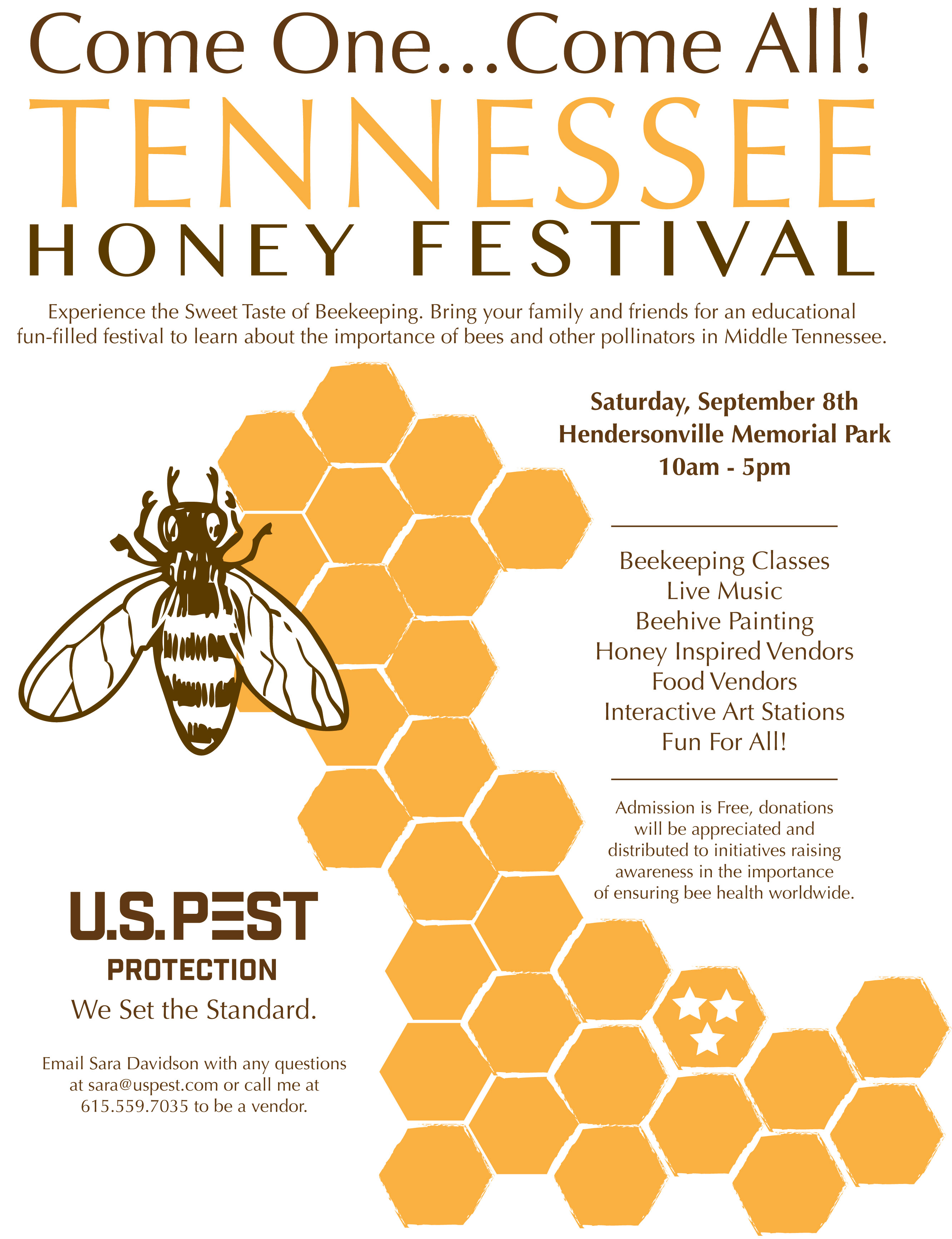 Tennessee Honey Festival Presented By US Pest Protection