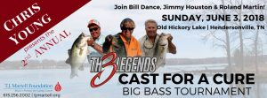 Chris Young Presents 2nd Annual Th3 Legends Cast f...