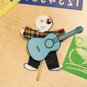 Creative Zone: Puppet Making