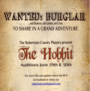 The Hobbit Auditions