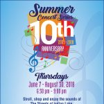 10th Annual Summer Concert Series