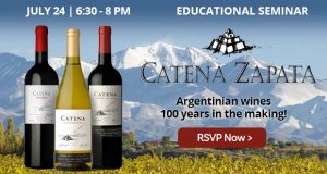Educational Seminar: Catena Zapata