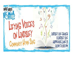 Lifting Voices on Lindsley