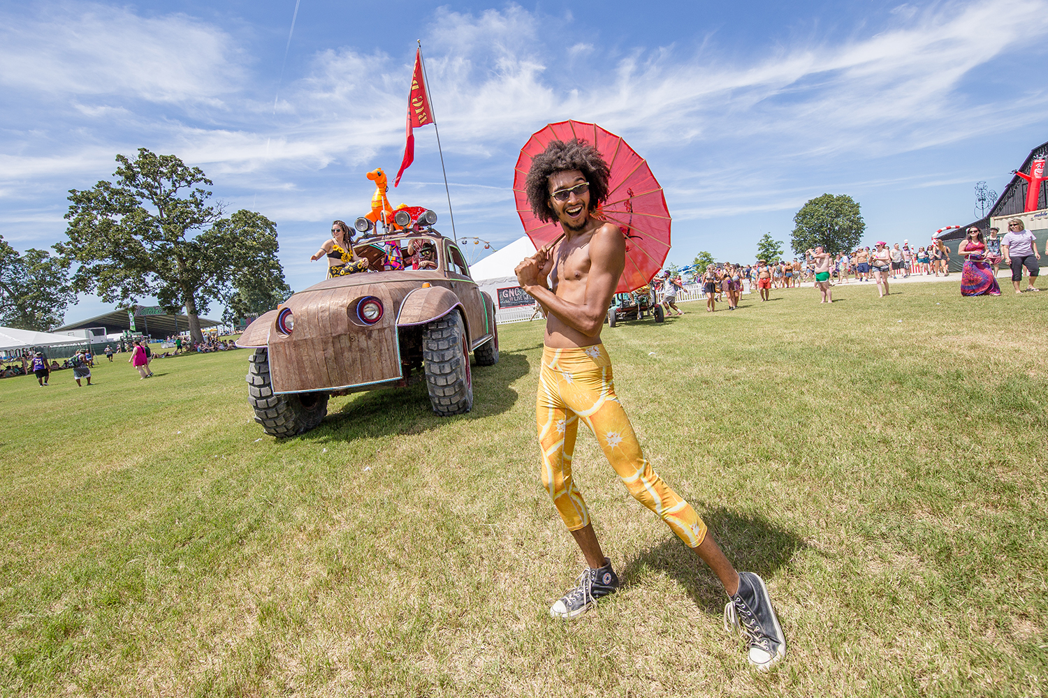 Parades at Bonnaroo