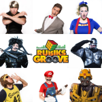 Rubiks Groove SNL Show