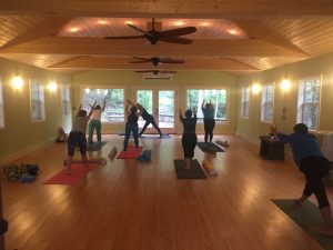 Yoga in the Woods (Franklin's Nature Preserve and ...