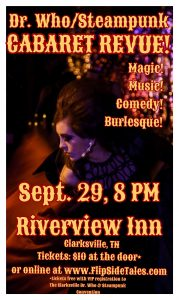 Dr. Who Steampunk Cabaret